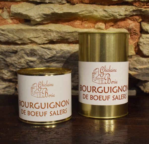 Bourguignon de Boeuf Salers