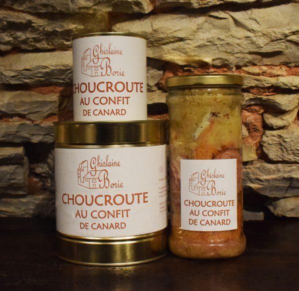 Choucroute au Confit de Canard du Lot