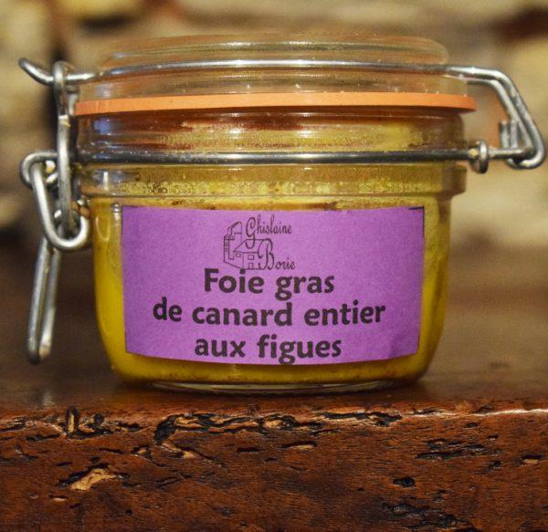 Foie Gras de Canard du Lot aux Figues - 2 parts - 100 gr