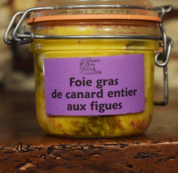 Foie Gras de Canard du Lot aux Figues - 4 parts - 180 gr