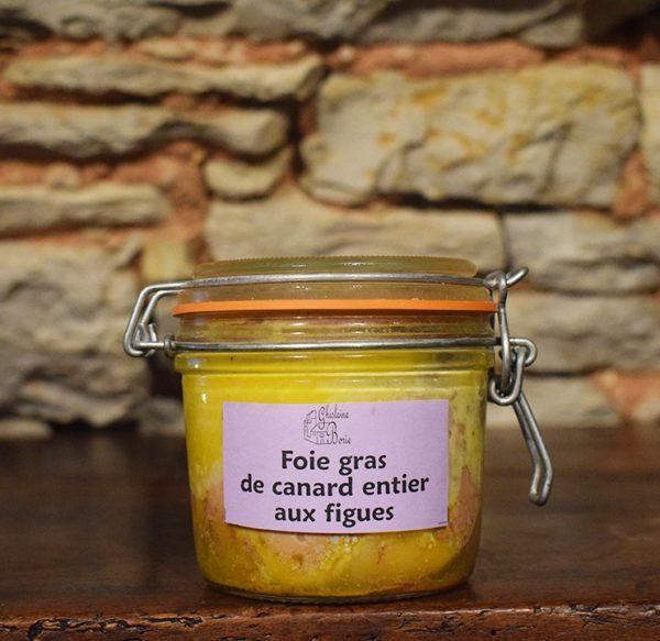 Foie Gras de Canard du Lot aux Figues - 6 parts - 315 gr