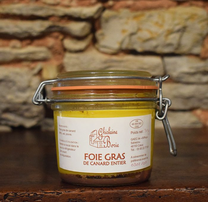 Foie Gras de Canard du Lot Ferme de Siffray - 6 parts - 315 gr