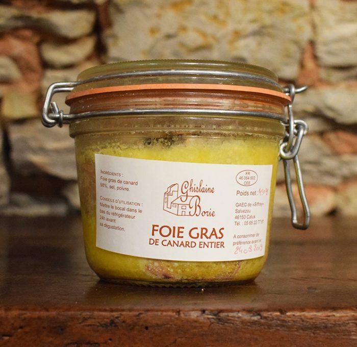 Foie Gras de Canard du Lot - 9 parts - 450 gr