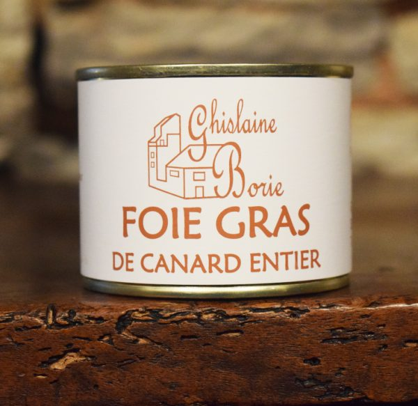 Foie Gras de Canard du Lot Ferme de Siffray - 4 parts - 170 gr