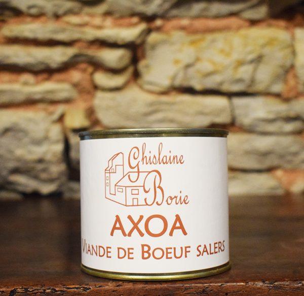 Axoa Viande de Boeuf Salers - 3 parts – 450 gr