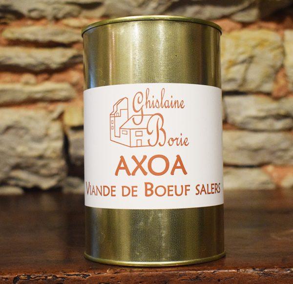 Axoa Viande de Boeuf Salers - 6 parts – 900 gr