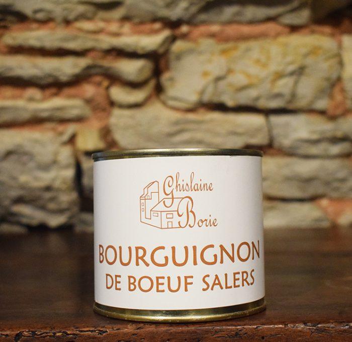 Bourguignon de Boeuf Salers - 3 parts – 450 gr