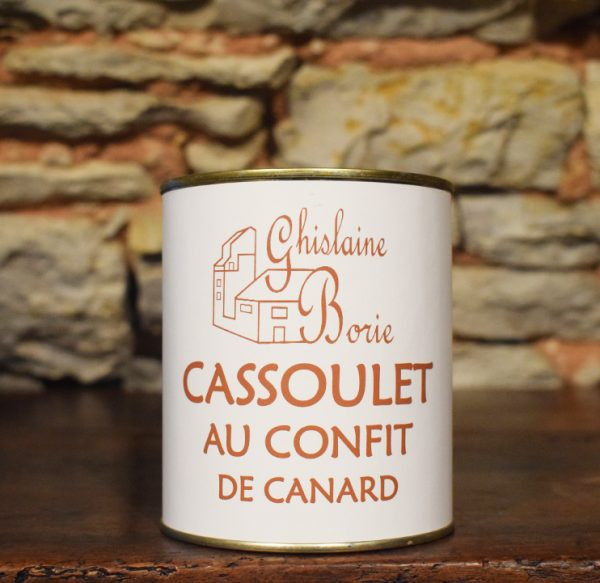 Cassoulet de Canard du Lot - 2 parts – 800 gr