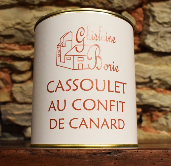 Cassoulet au confit de canard du Lot - 6 parts - 2800 gr
