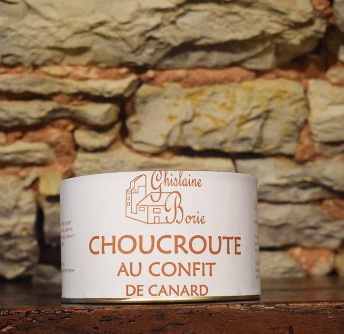 Choucroute au Confit du Lot - 3 parts – 1400 gr