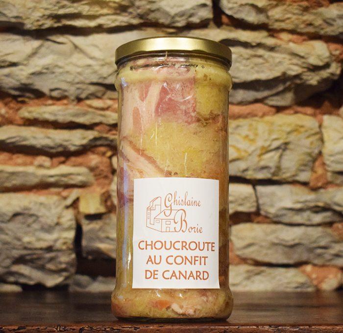Choucroute au Confit du Lot - 6 parts – 2800 gr