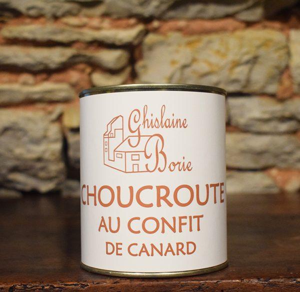 Choucroute au Confit du Lot - 2 parts – 800 gr
