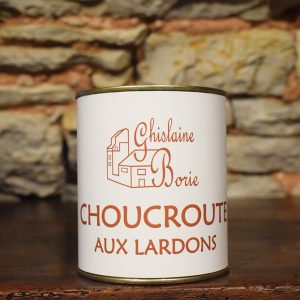 Choucroute aux Lardons du Lot - 3/4 parts – 750 gr