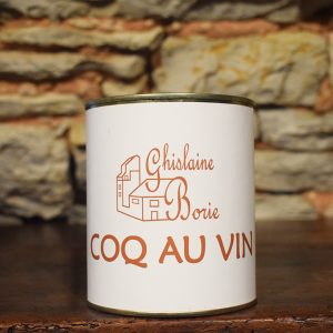 Coq au Vin du Lot - 2-3 parts – 750 gr