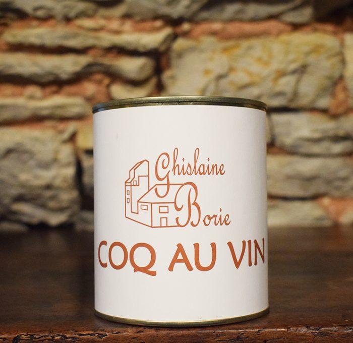 Coq au Vin du Lot - 2-3 parts – 750 gr