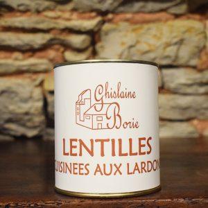 Lentilles aux Lardons du Lot - 3-4 parts – 750 gr