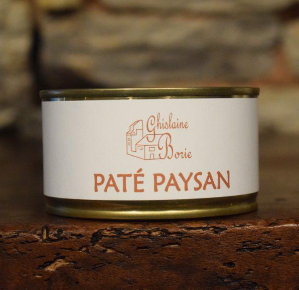 Pâté Paysan du Lot - 4/5 parts – 185 gr
