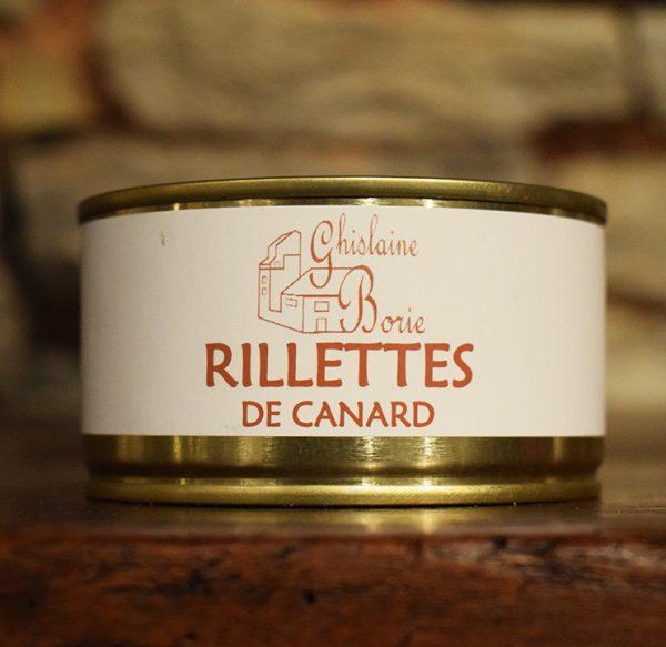 Rillettes de Canard du Lot - 4/5 parts - 185 gr