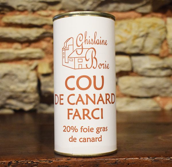 Cou de Canard du Lot Farci - 6/8 parts – 350 gr