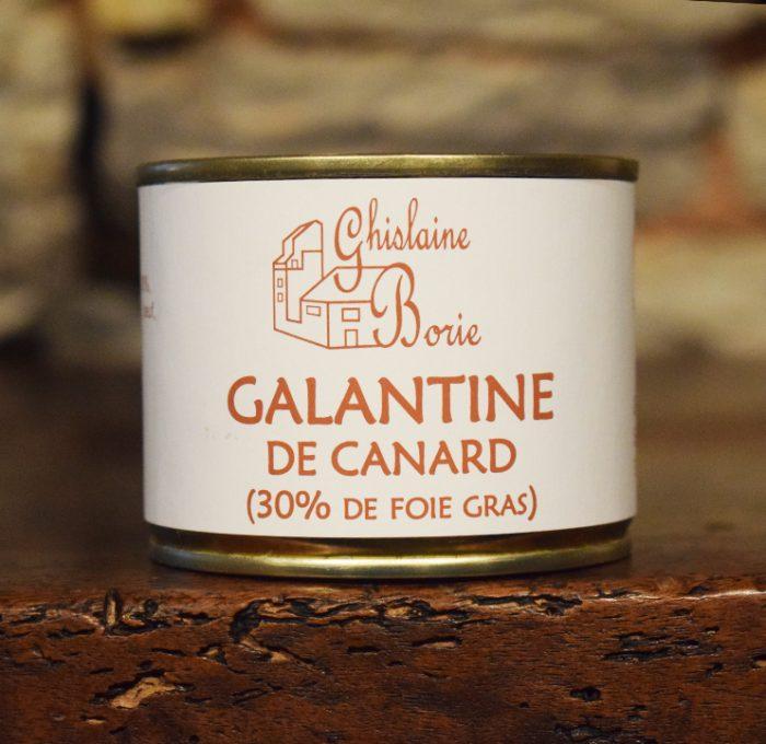 Galantine de Canard du Lot - 3/4 parts – 185 gr